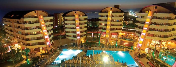 Alaiye Resort & Spa Hotel is one of Lugares favoritos de Ahmet.