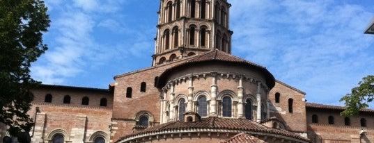 Basilique Saint-Sernin is one of Parijs.
