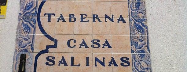Casa Salinas is one of Restaurantes de Andalucía.