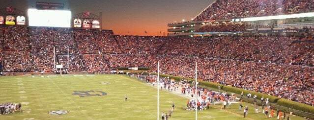 Jordan-Hare Stadium is one of Experience NCAA Teams.