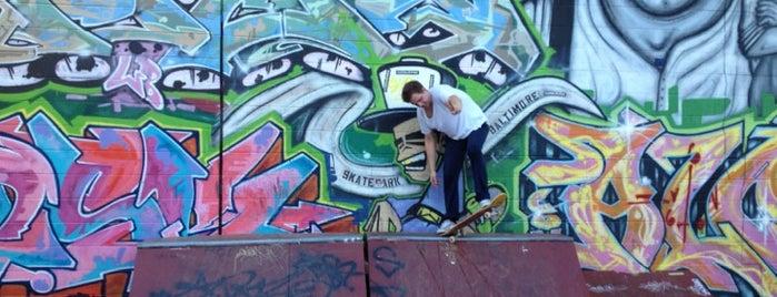 Roosevelt Park Skate Park is one of Baltimore.