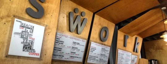 Swork Coffee Bar is one of Los Angeles Indie Coffee Places with Wifi.