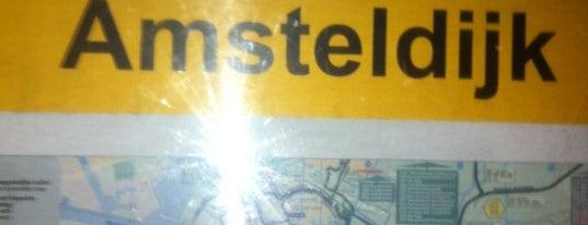 Tramhalte Amsteldijk is one of Alle tramhaltes van Amsterdam.