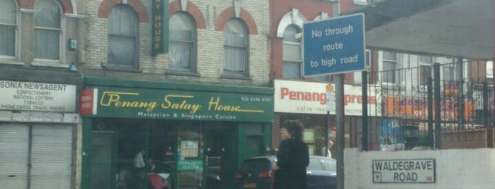 Penang Express is one of Makan!: Quest for Malaysian Food in UK.