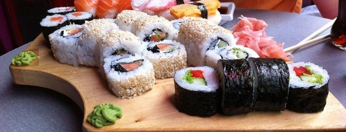 Sushi Cat is one of Sushi Sampler.