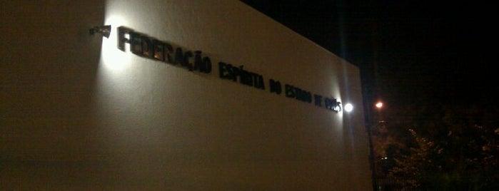 Federação Espírita do Estado de Goias (FEEGO) is one of Favoritos em Goiânia.