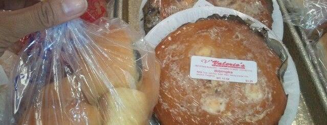 Valerio's Bakeshop is one of LA Pinoy Cuisine.