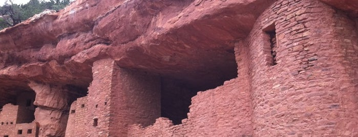 Manitou Cliff Dwellings is one of Denver Fun.