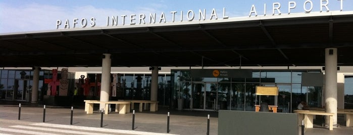 Paphos International Airport (PFO) is one of Airports Europe.