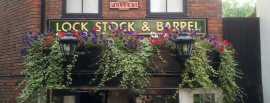 Lock Stock and Barrel is one of Carlさんのお気に入りスポット.