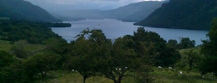 Lake Ullswater is one of Lake District.