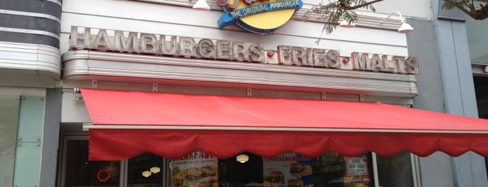 Johnny Rockets is one of David & Dana's LA BAR & EATS!.