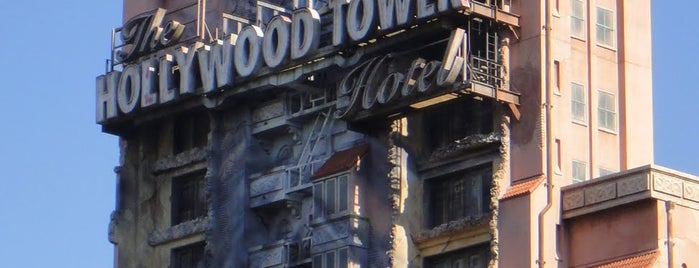 The Twilight Zone Tower of Terror is one of Disney Musts.