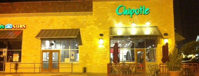 Chipotle Mexican Grill is one of Must-visit Mexican Restaurants in Fort Worth.
