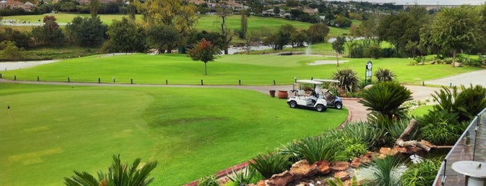 Dainfern Golf and Country Club is one of Perfect 10 Sunninghill.