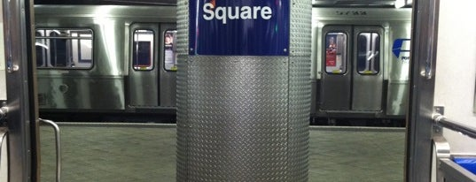Journal Square PATH Station is one of ACTING.