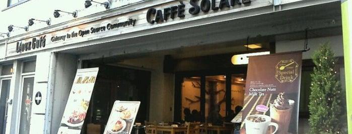 カフェ ソラーレ (CAFFE SOLARE) リナックスカフェ 秋葉原店 is one of Tempat yang Disimpan ぜろ.