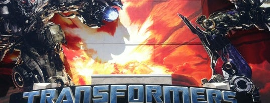 Transformers: The Ride - 3D is one of Locais curtidos por Sergio M. 🇲🇽🇧🇷🇱🇷.
