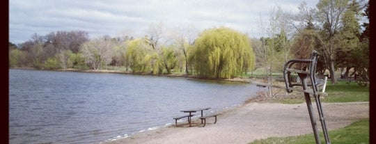 Lake Nokomis is one of Minneapolis, MN.