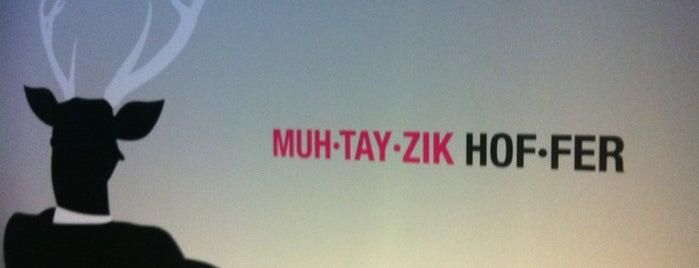 MUH-TAY-ZIK | HOF-FER is one of Lugares favoritos de Krystha.