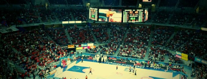 Pabellón Fernando Buesa Arena is one of สถานที่ที่ Txemita ถูกใจ.