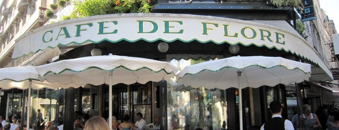 Café de Flore is one of France To-Do.