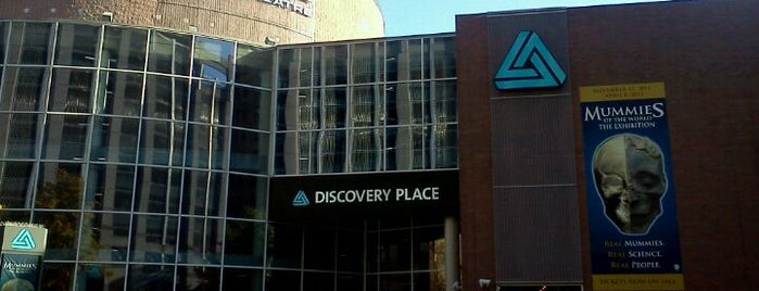 IMAX Dome Theater at Discovery Place is one of #visitUS in Charlotte, NC!.