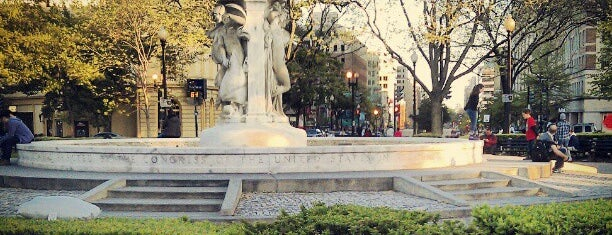 Dupont Circle Fountain (Samuel Francis Du Pont Memorial Fountain) is one of A Not So Tourist Guide to DC.