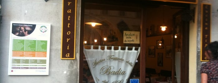 Antica Trattoria della Badia is one of 4sq Specials in Tuscany.