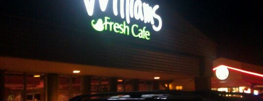 Williams Fresh Cafe is one of Locais curtidos por Alled.