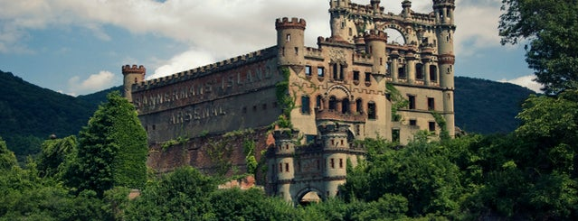 Bannerman Island (Pollepel Island) is one of Adult Camp!.