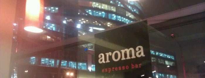 aroma espresso bar is one of Kyiv #4sqCities.