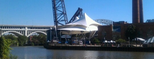 Jacobs Pavilion at Nautica is one of sclcs.