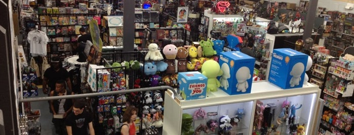TATE'S Comics + Toys + Videos + More is one of Vinyl Figures and Toys.