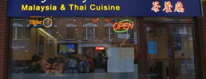 Malaysia Kopi Tiam is one of Makan!: Quest for Malaysian Food in UK.