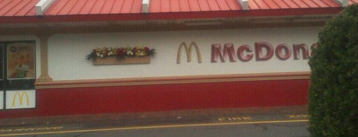 McDonald's is one of Crystal : понравившиеся места.