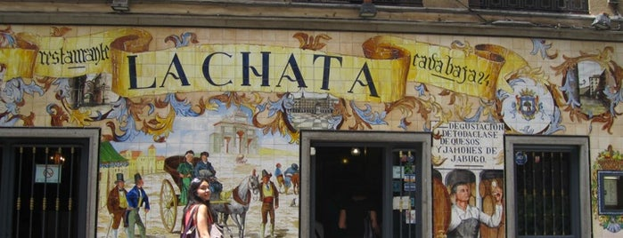 La Chata is one of Places to eat - Madrid, Spain.