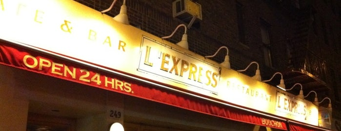 L'Express is one of Discover NYC With Wifey.
