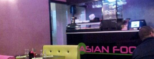 Asian Food is one of j'ai été.