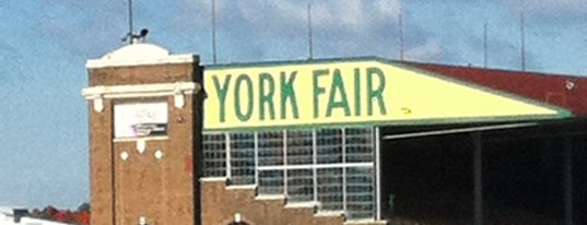 York Fairgrounds & Expo Center is one of York College Student Hotspots.