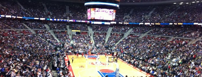 ザ・パレス・オブ・オーバーンヒルズ is one of NBA Arena Guide.