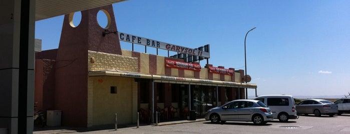 Restaurante Garysol II is one of Tempat yang Disukai Fiestecita.