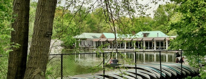 The Loeb Boathouse is one of NY.
