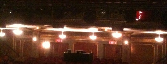 Brooks Atkinson Theatre is one of Nederlander Broadway Theatres.