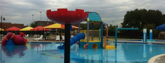 Sun Valley Aquatic Center is one of Lewisville.