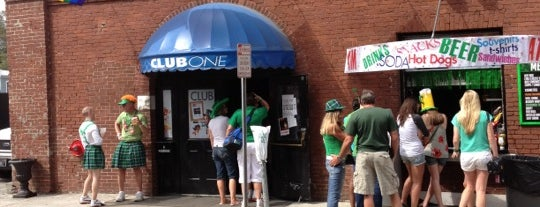 Club One is one of Gay-Friendly Restaurants in Savannah, GA.