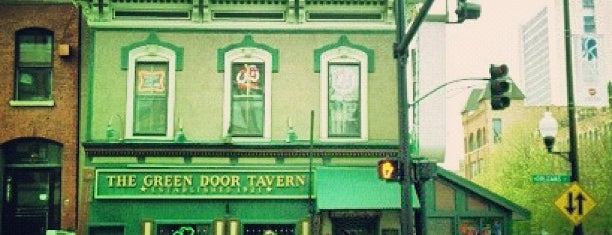 Green Door Tavern is one of ten oldest - Chicago.