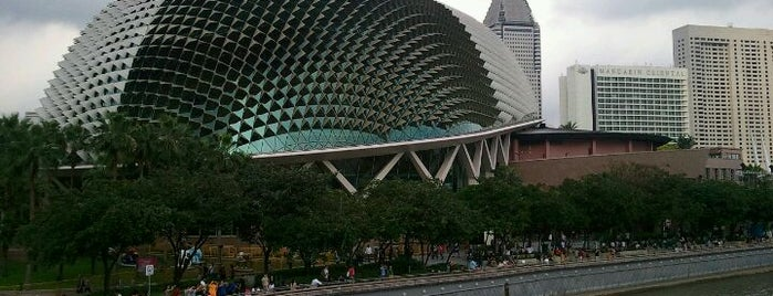 Esplanade - Theatres On The Bay is one of The best of Singapore.