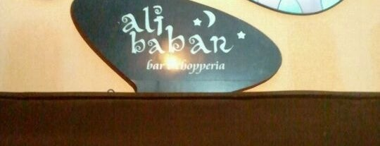 Alibabar is one of Bar.