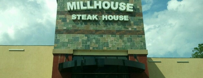 MillHouse SteakHouse is one of Kimleeさんの保存済みスポット.